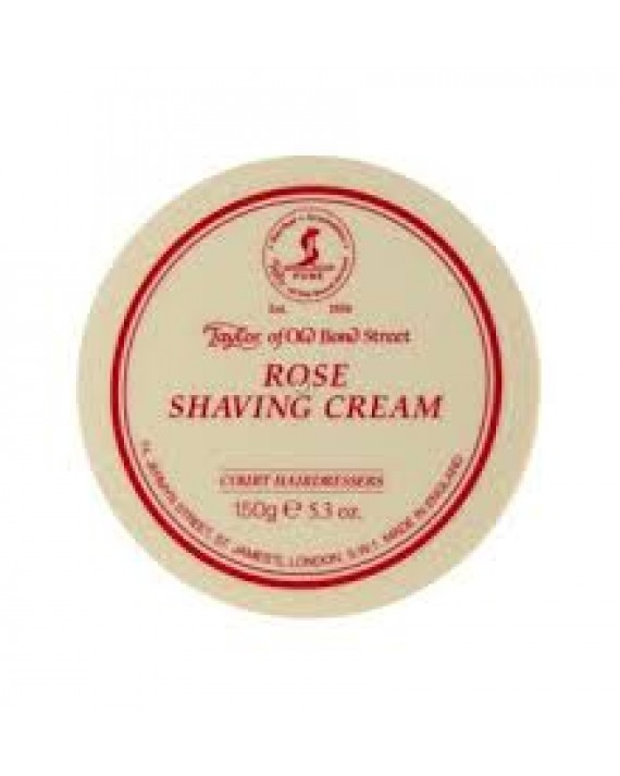 TAYLOR OF BOND STREET - ROSE SHAVING CREAM BOWL