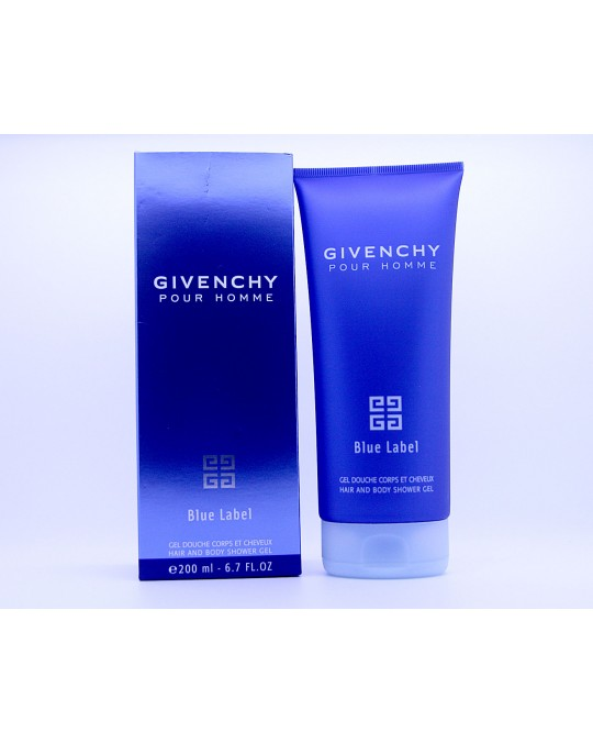 Givenchy Blue Label pour homme - Hair and body shampoo - 200 ml