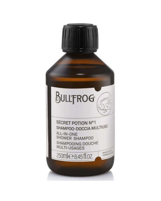 BULLFROG – SHAMPOO MULTIFUNZIONE SECRET POTION N.1