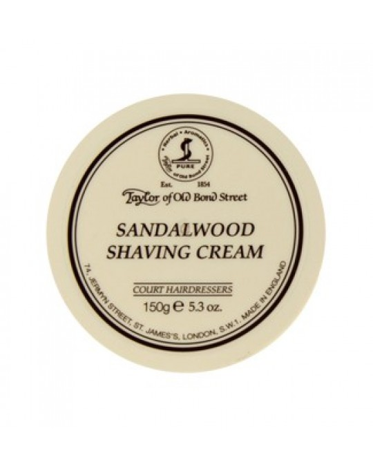 TAYLOR OF BOND STREET - SANDALWOOD SHAVING CREAM BOWL