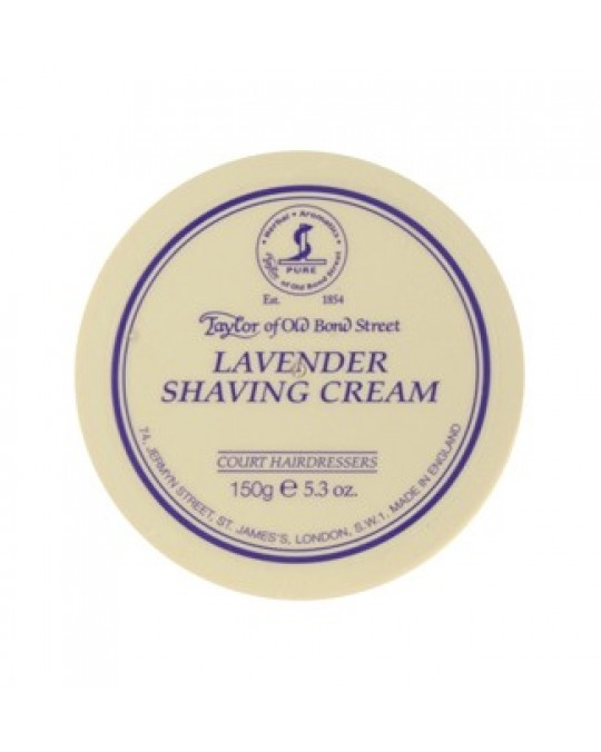 TAYLOR OF BOND STREET -  LAVENDER SHAVING CREAM BOWL